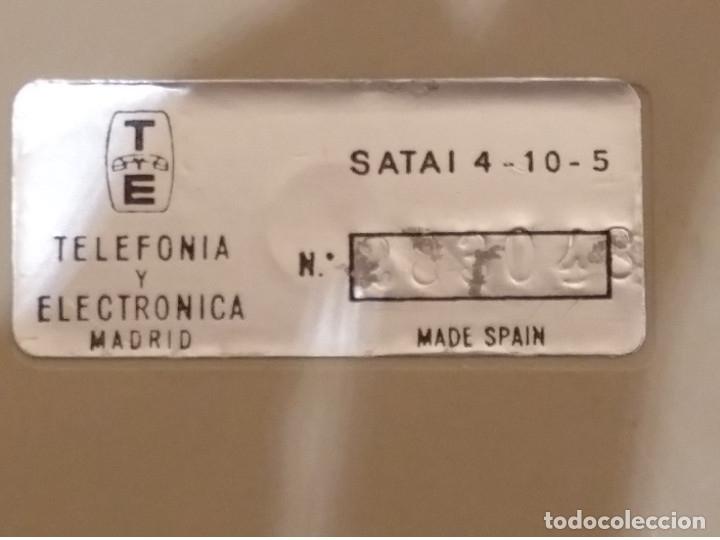 Teléfonos: CENTRALITA TELEFONICA VINTAGE. TELEFONICA ESPAÑOLA. AÑOS 70 80. - Foto 4 - 175077163