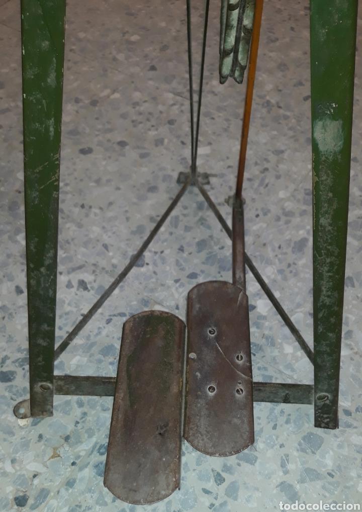Antigüedades: Antigua caladora mecanica de pedal The GEM hobbies - Foto 3 - 175115405