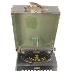 Antigüedades: MAQUINA DE ESCRIBIR ADLER 30 AÑO 1929 TYPEWRITER SCHREIBMASCHINE. Lote 175128467