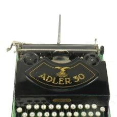 Antigüedades: MAQUINA DE ESCRIBIR ADLER 30 AÑO 1929 TYPEWRITER SCHREIBMASCHINE. Lote 175129262