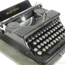 Antigüedades: MAQUINA DE ESCRIBIR BLUE BIRD AÑO 1935 TYPEWRITER SCHREIBMASCHINE. Lote 175131774