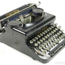 Antigüedades: MAQUINA DE ESCRIBIR CONCORDIA AÑO 1926 TYPEWRITER SCHREIBMASCHINE. Lote 175132330