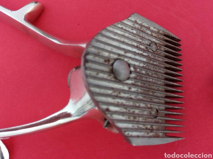 Antigüedades: Antigua maquinilla de afeitar marca Bagpiper. En su caja original - Foto 3 - 175149814