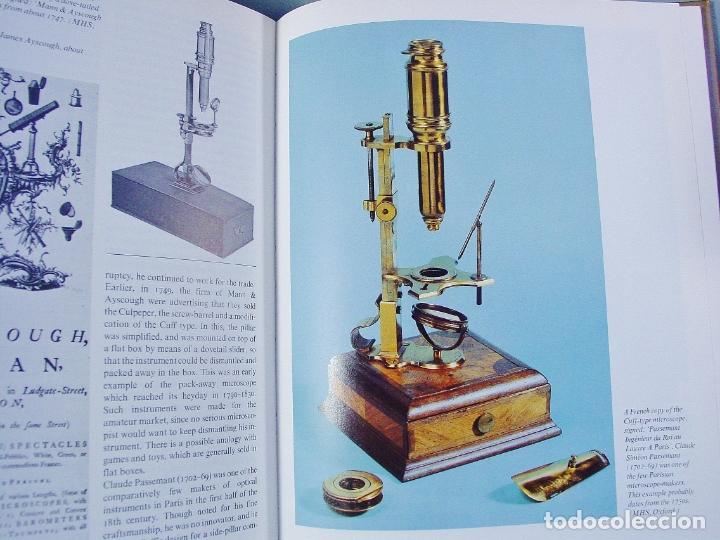 Antigüedades: COLLECTING MICROSCOPES DE G.LE TURNER (GUÍA DEL COLECCIONISTA DE MICROSCOPIOS) - Foto 2 - 175204378