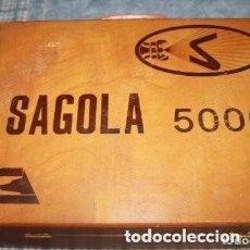 Antigüedades: PISTOLA COMPRESOR ELECTRICA SAGOLA 5000 VINTAGE AÑOS 70-80. Lote 175226137