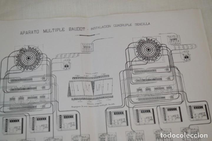 Teléfonos: 24 láminas, siglo pasado, esquemas TELEGRAFÍA, RADIOTELEGRAFÍA y TELEFONÍA ¡Observa fotos/detalles! - Foto 3 - 175285277