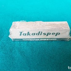 Antigüedades: TAKADISPEP 20 COMPRIM. I. F. CANTABRIA S.A. (1950S) PRECINTADO. Lote 175298543