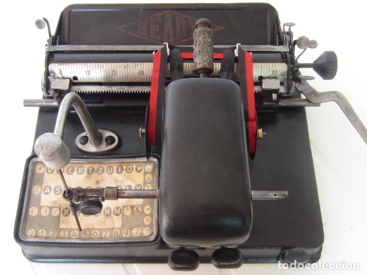 MAQUINA ESCRIBIR HEADY (Antigüedades - Técnicas - Máquinas de Escribir Antiguas - Otras)