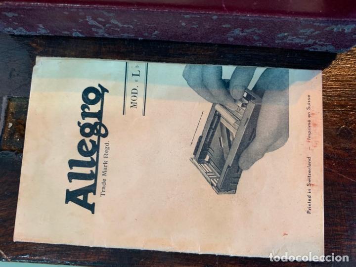 Antigüedades: ANTIGUO AFILADOR DE CUCHILLAS ALLEGRO - Foto 4 - 175400693
