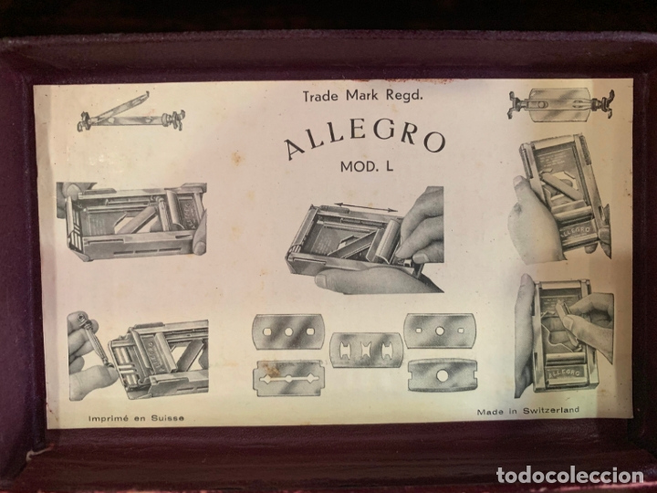 Antigüedades: ANTIGUO AFILADOR DE CUCHILLAS ALLEGRO - Foto 5 - 175400693
