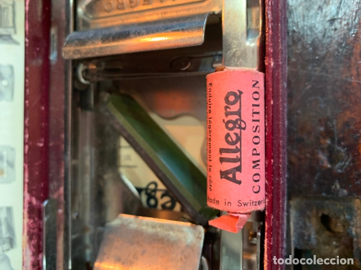 Antigüedades: ANTIGUO AFILADOR DE CUCHILLAS ALLEGRO - Foto 10 - 175400693