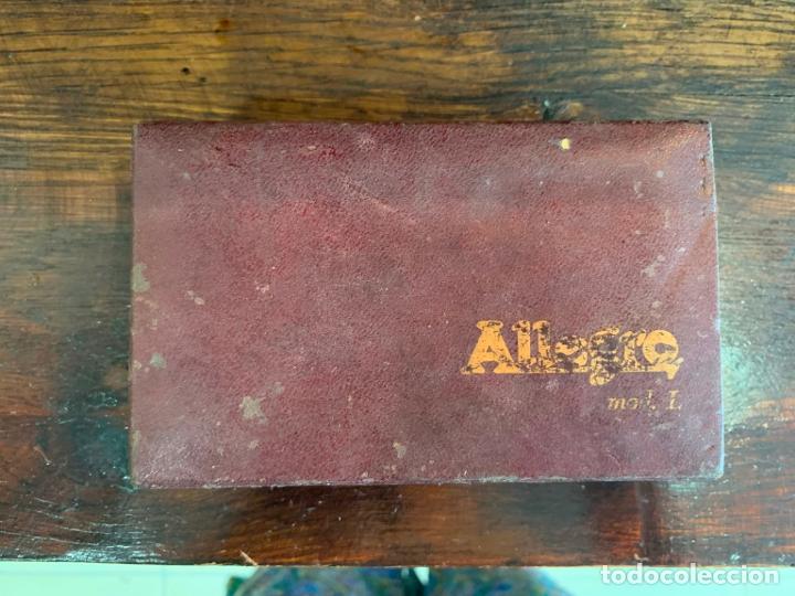 Antigüedades: ANTIGUO AFILADOR DE CUCHILLAS ALLEGRO - Foto 11 - 175400693
