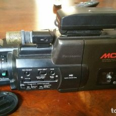 Antigüedades: CAMARA DE VIDEO VHS HQ MC10 PANASONIC MALETA COMPLETA CON TODOS LOS ACCESORIOS.. Lote 175423730
