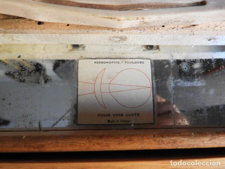 Antigüedades: CAJA ANTIGUA CON LENTES DE OPTICA PARA REGULAR LA VISION - Foto 8 - 175445244