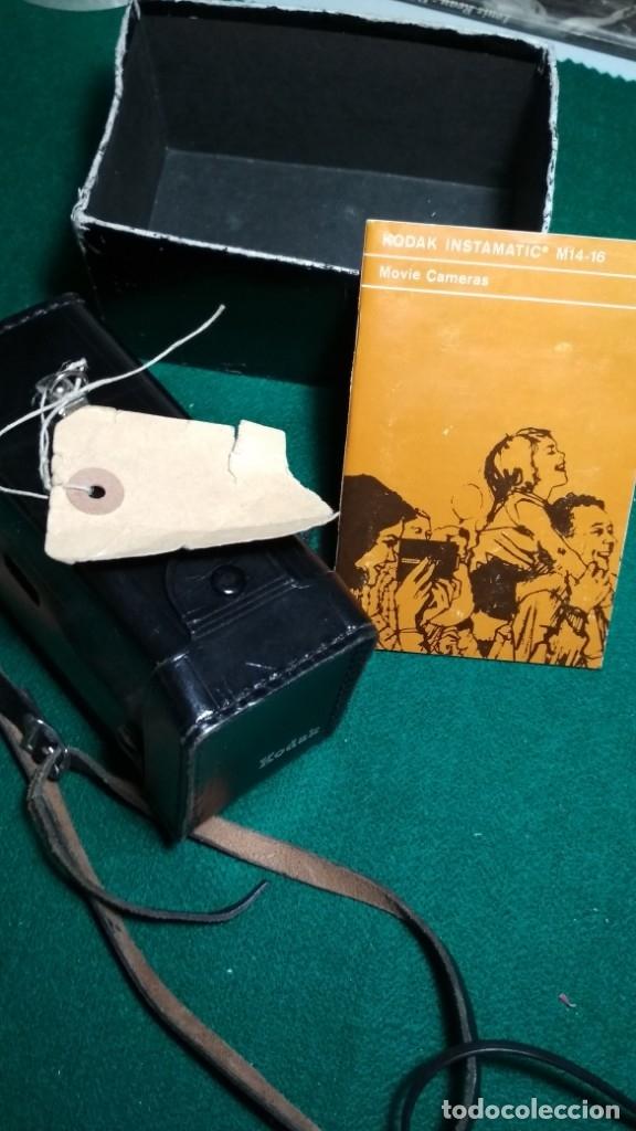 Antigüedades: KODAK INSTAMATIC M14 CON INSTRUCCIONES, FUNDA Y PARTE DE LA CAJA Ver fotos Y LEER DESCRIPCION - Foto 2 - 175454638