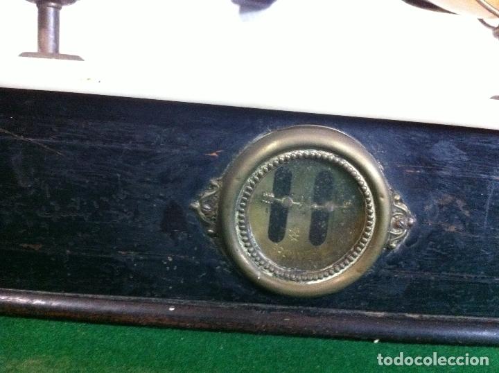 Antigüedades: BONITA BALANZA NAPOLEONICA TABAQUERA CON FUERZA 500 G SIGLO XIX - Foto 5 - 175411952