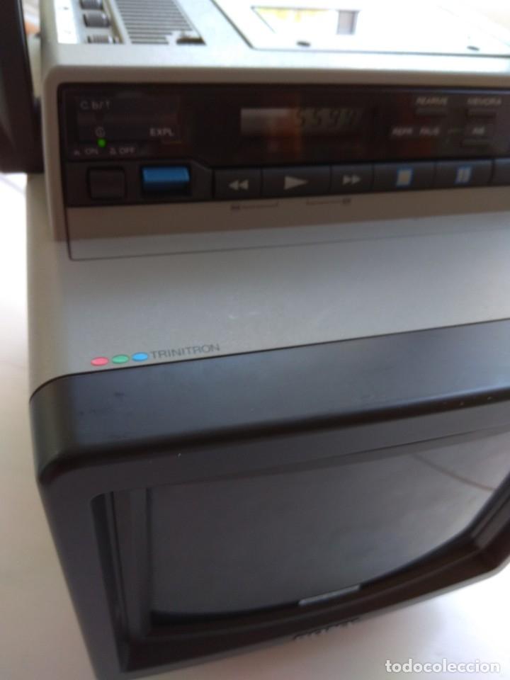Antigüedades: Reproductor Sony Combo Video 8 Triniton EVM-9010PR - Foto 18 - 173516650