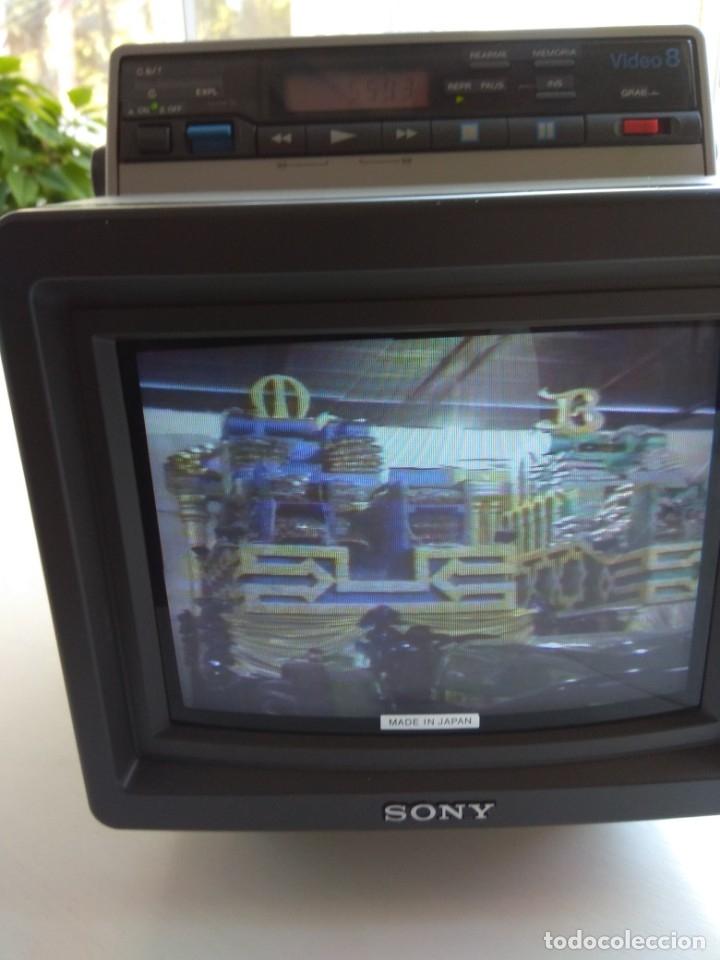 Antigüedades: Reproductor Sony Combo Video 8 Triniton EVM-9010PR - Foto 27 - 173516650