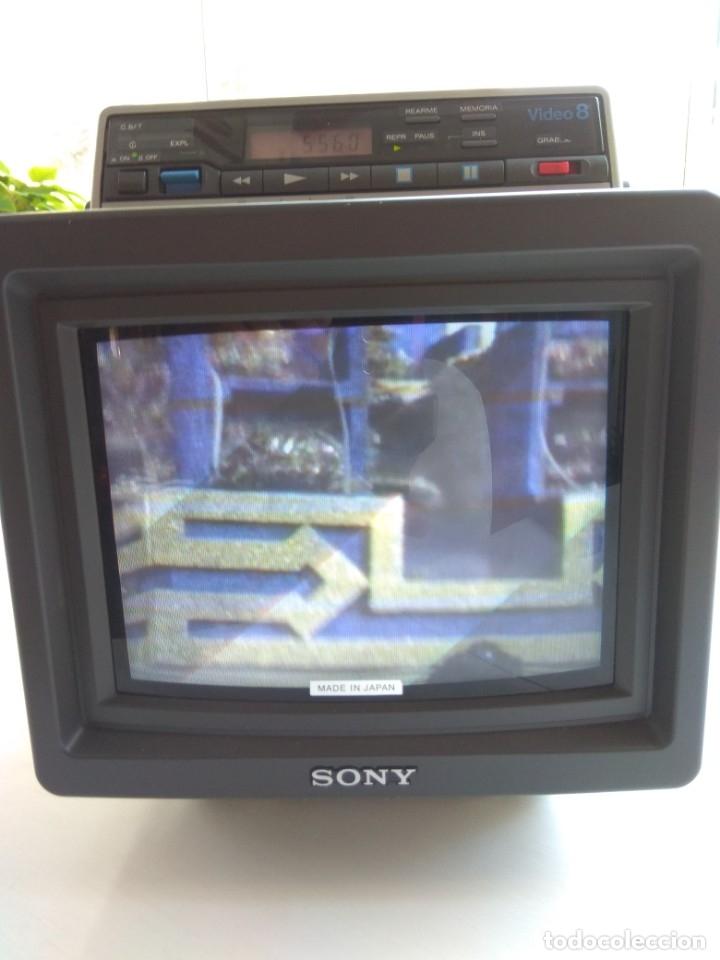 Antigüedades: Reproductor Sony Combo Video 8 Triniton EVM-9010PR - Foto 30 - 173516650