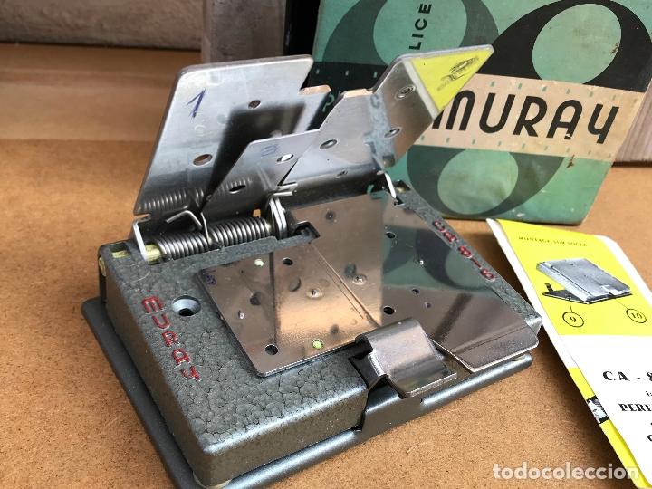 Antigüedades: Empalmadora de super 8 Muray, en su caja original, vintage - Foto 2 - 175553480
