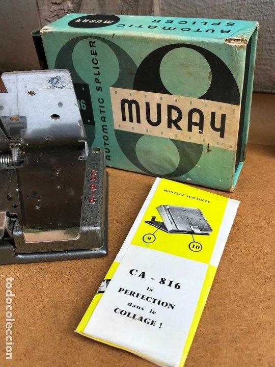 Antigüedades: Empalmadora de super 8 Muray, en su caja original, vintage - Foto 3 - 175553480