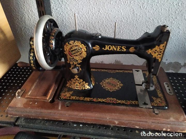MAQUINA COSER PORTATIL (Antigüedades - Técnicas - Máquinas de Coser Antiguas - Otras)