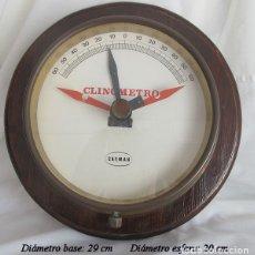 Antigüedades: INCLINOMETRO CLINOMETRO NAVAL CARMAN BARCO. Lote 175704423