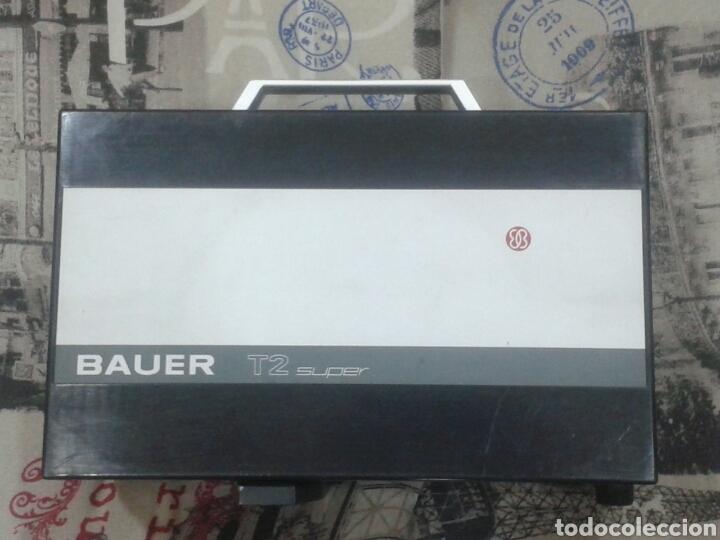 Antigüedades: Proyector de cine Bauer T2 Super 8 mm. - Foto 4 - 175791729