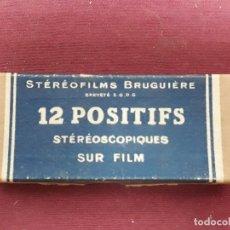 Antigüedades: CAJA DE 12 VISTAS PLASTICAS ESTEREOSCOPICAS DE LA NAPOULE. Lote 175814077