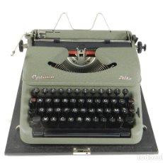 Antigüedades: MAQUINA DE ESCRIBIR OPTIMA ELITE AÑO 1946 TYPEWRITER SCHREIBSMASCHINE. Lote 175841877