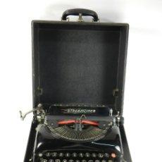 Antigüedades: MAQUINA DE ESCRIBIR REMINGTON STREAMLINER AÑO 1941 TYPEWRITER SCHREIBSMASCHINE. Lote 175842347