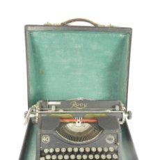 Antigüedades: MAQUINA DE ESCRIBIR ROOY 40 AÑO 1940 TYPEWRITER SCHREIBSMASCHINE. Lote 175842467