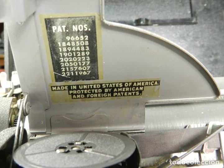 Antigüedades: MAQUINA DE ESCRIBIR ROYAL AÑO 1945 TYPEWRITER SCHREIBSMASCHINE - Foto 7 - 175842873