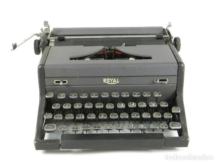 MAQUINA DE ESCRIBIR ROYAL ARROW AÑO 1942 TYPEWRITER SCHREIBSMASCHINE (Antigüedades - Técnicas - Máquinas de Escribir Antiguas - Mercedes)