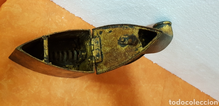Antigüedades: PLANCHA ANTIGUA, - Foto 3 - 175862679