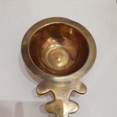 Antigüedades: ANTIGUA PIEZA MACIZA REALIZADA EN BRONCE. Lote 175903818