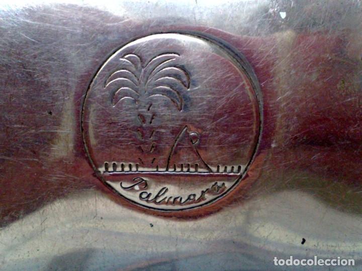 Antigüedades: MAQUINILLA DE AFEITAR ANTIGUA,MARCA PALMERA EN SU ESTUCHE DE METAL CROMADO (DESCRIPCIÓN) - Foto 5 - 175903848