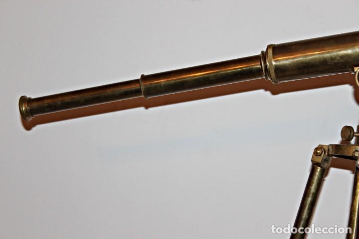 Antigüedades: Catalejo de barco (1) - Latón - Segunda mitad del siglo XX - Foto 7 - 175943352