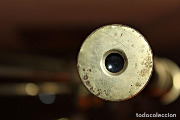 Antigüedades: Catalejo de barco (1) - Latón - Segunda mitad del siglo XX - Foto 15 - 175943352