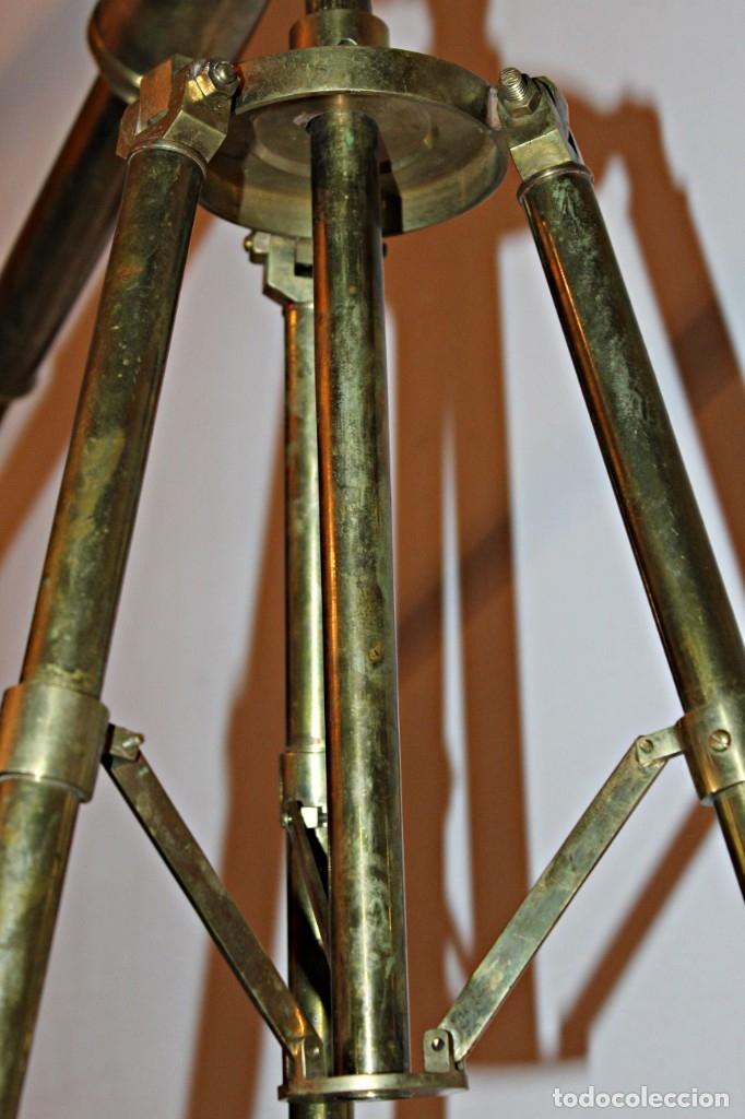 Antigüedades: Catalejo de barco (1) - Latón - Segunda mitad del siglo XX - Foto 18 - 175943352