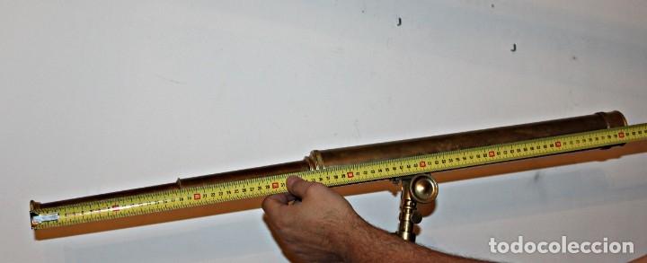 Antigüedades: Catalejo de barco (1) - Latón - Segunda mitad del siglo XX - Foto 23 - 175943352