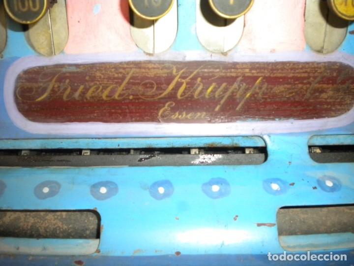 Antigüedades: MAQUINA REGISTRADORA KRUPP - Foto 3 - 175960794