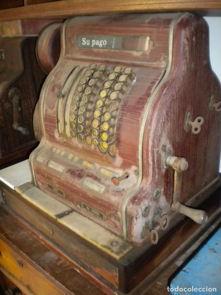 Antigüedades: CAJA REGISTRADORA KRUPP - Foto 2 - 175961683