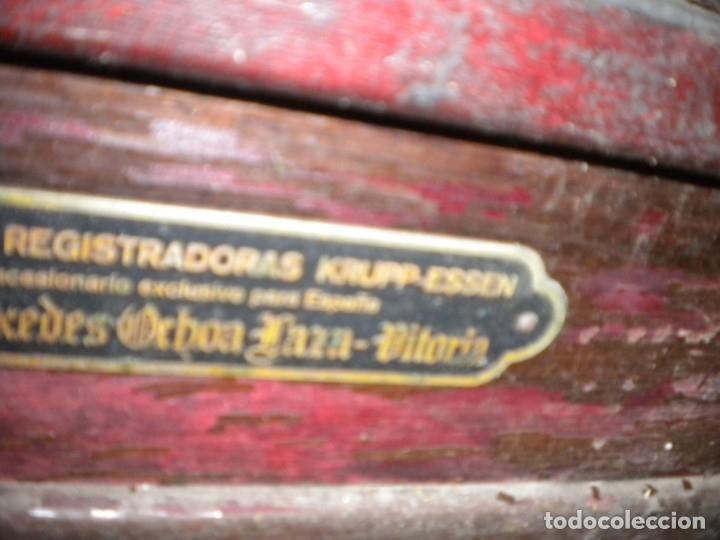Antigüedades: CAJA REGISTRADORA KRUPP - Foto 3 - 175961683