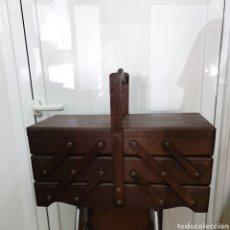 Antigüedades: COSTURERO ANTIGUO DESPLEGABLE. Lote 175964447