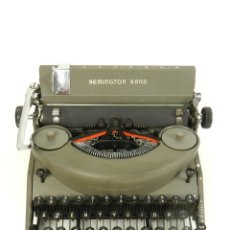 Antigüedades: MAQUINA DE ESCRIBIR REMINGTON RAND NOISELESS 7 AÑO 1947 TYPEWRITER SCHREIBSMASCHINE. Lote 175976657