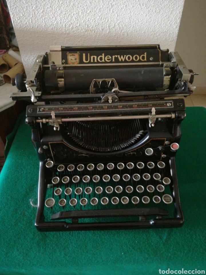 MAQUINA DE ESCRIBIR MARCA UNDERWOOD (Antigüedades - Técnicas - Máquinas de Escribir Antiguas - Underwood)