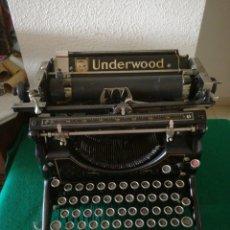 Antigüedades: MAQUINA DE ESCRIBIR MARCA UNDERWOOD. Lote 175983675