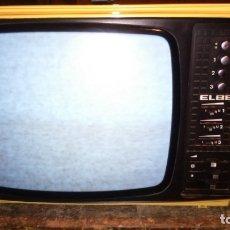 """Antigüedades: TELEVISOR BYN ELBE 12 """" CARCASA BLANCO MARFIL. Lote 182915347"""