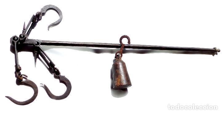 Antigüedades: ROMANA DE FORJA 86 CM DE LARGO - Foto 7 - 175992470